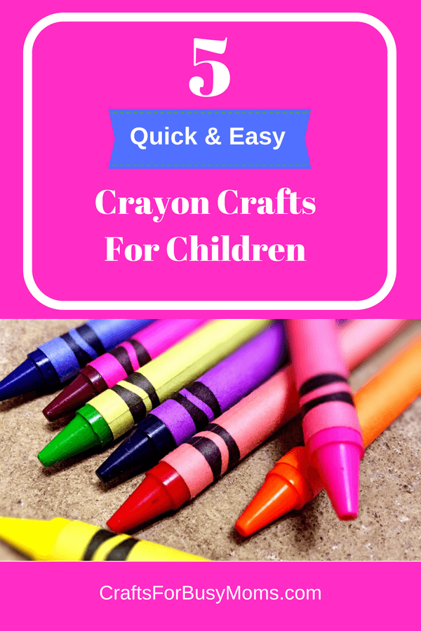 crayon crafts